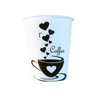 Թղթե բաժակ I love coffee