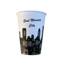 Թղթե բաժակ Բարի առավոտ քաղաք